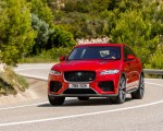 2019 Jaguar F-Pace SVR (Color: Firenze Red) Front Wallpapers 150x120 (15)