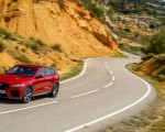 2019 Jaguar F-Pace SVR (Color: Firenze Red) Front Wallpapers 150x120 (37)