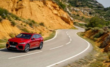 2019 Jaguar F-Pace SVR (Color: Firenze Red) Front Wallpapers 450x275 (37)