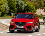 2019 Jaguar F-Pace SVR (Color: Firenze Red) Front Wallpapers 150x120 (24)