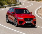 2019 Jaguar F-Pace SVR (Color: Firenze Red) Front Wallpapers 150x120 (16)