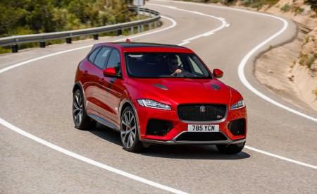 2019 Jaguar F-Pace SVR (Color: Firenze Red) Front Wallpapers 450x275 (16)