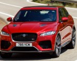 2019 Jaguar F-Pace SVR (Color: Firenze Red) Front Wallpapers 150x120 (7)