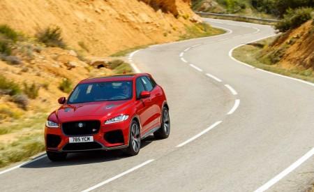 2019 Jaguar F-Pace SVR (Color: Firenze Red) Front Wallpapers 450x275 (38)
