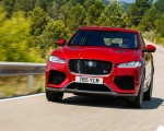2019 Jaguar F-Pace SVR (Color: Firenze Red) Front Wallpapers 150x120 (27)