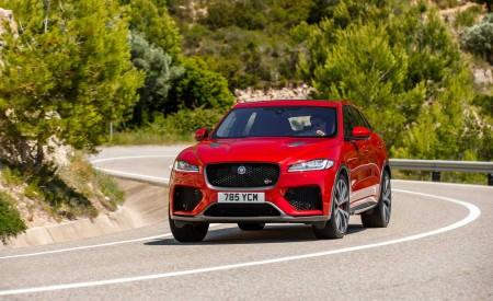 2019 Jaguar F-Pace SVR (Color: Firenze Red) Front Wallpapers 450x275 (17)