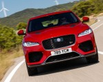 2019 Jaguar F-Pace SVR (Color: Firenze Red) Front Wallpapers 150x120 (9)