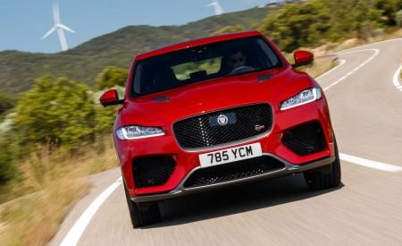 2019 Jaguar F-Pace SVR (Color: Firenze Red) Front Wallpapers 450x275 (9)