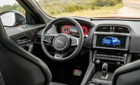 2019 Jaguar F-Pace SVR (Color: Firenze Red) Interior Cockpit Wallpapers 450x275 (49)