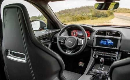 2019 Jaguar F-Pace SVR (Color: Firenze Red) Interior Cockpit Wallpapers 450x275 (50)