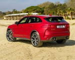 2019 Jaguar F-Pace SVR (Color: Firenze Red) Rear Three-Quarter Wallpapers 150x120 (42)