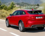 2019 Jaguar F-Pace SVR (Color: Firenze Red) Rear Three-Quarter Wallpapers 150x120 (10)