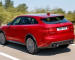 2019 Jaguar F-Pace SVR (Color: Firenze Red) Rear Three-Quarter Wallpapers 150x120 (11)