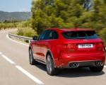 2019 Jaguar F-Pace SVR (Color: Firenze Red) Rear Wallpapers 150x120 (30)