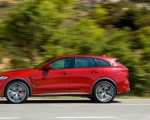2019 Jaguar F-Pace SVR (Color: Firenze Red) Side Wallpapers 150x120 (13)