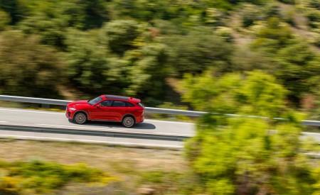 2019 Jaguar F-Pace SVR (Color: Firenze Red) Side Wallpapers 450x275 (12)