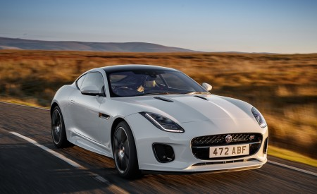 2019 Jaguar F-Type Chequered Flag Edition Wallpapers HD