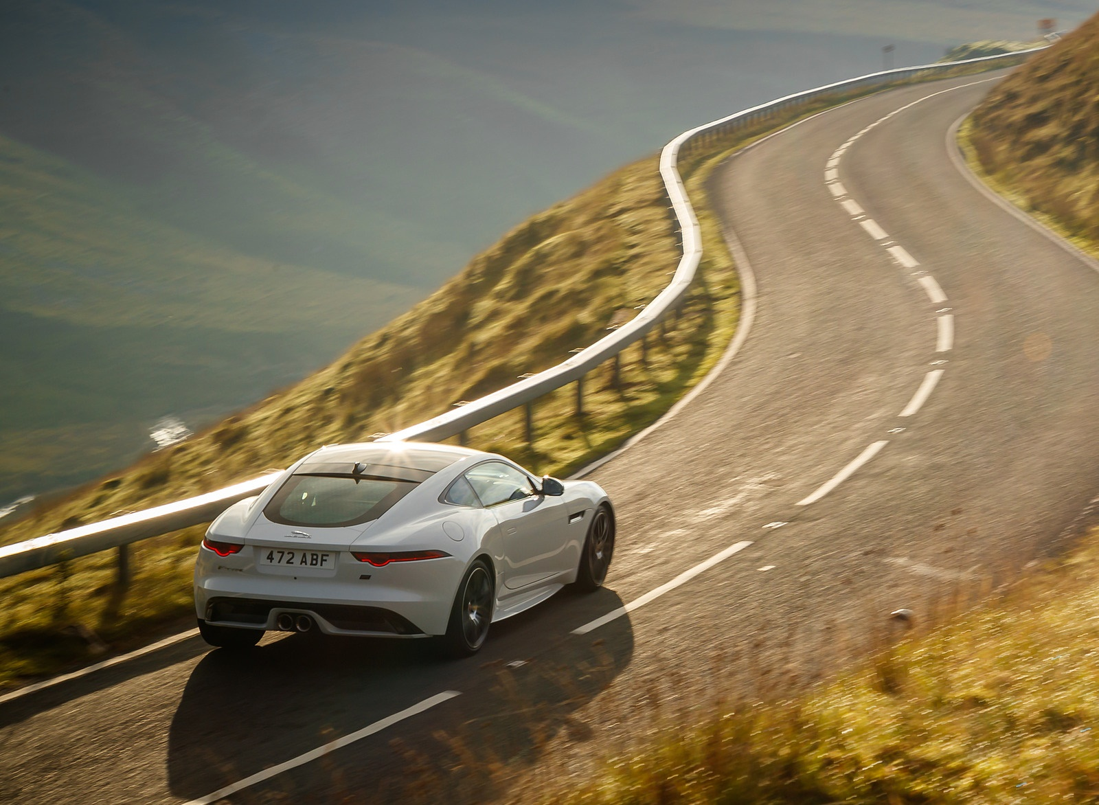 2019 Jaguar F-Type Chequered Flag Edition Rear Three-Quarter Wallpaper (4)