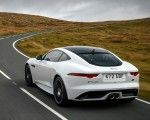 2019 Jaguar F-Type Chequered Flag Edition Rear Wallpaper 150x120 (5)