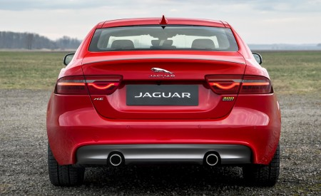 2019 Jaguar XE 300 SPORT Rear Wallpapers 450x275 (8)