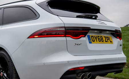 2019 Jaguar XF Sportbrake 20d AWD R-Sport Detail Wallpapers 450x275 (34)