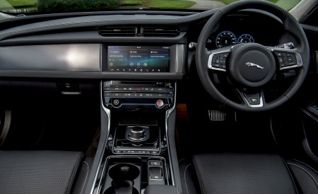 2019 Jaguar XF Sportbrake 20d AWD R-Sport Interior Cockpit Wallpapers 450x275 (49)