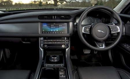 2019 Jaguar XF Sportbrake 20d AWD R-Sport Interior Cockpit Wallpapers 450x275 (48)