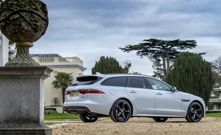 2019 Jaguar XF Sportbrake 20d AWD R-Sport Rear Three-Quarter Wallpapers 450x275 (32)