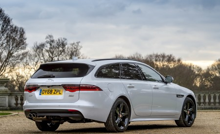2019 Jaguar XF Sportbrake 20d AWD R-Sport Rear Three-Quarter Wallpapers 450x275 (33)
