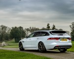 2019 Jaguar XF Sportbrake 20d AWD R-Sport Rear Three-Quarter Wallpapers 150x120 (24)