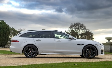 2019 Jaguar XF Sportbrake 20d AWD R-Sport Side Wallpapers 450x275 (10)