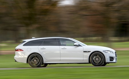 2019 Jaguar XF Sportbrake 20d AWD R-Sport Side Wallpapers 450x275 (3)