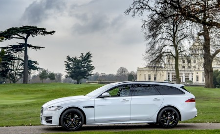 2019 Jaguar XF Sportbrake 20d AWD R-Sport Side Wallpapers 450x275 (9)