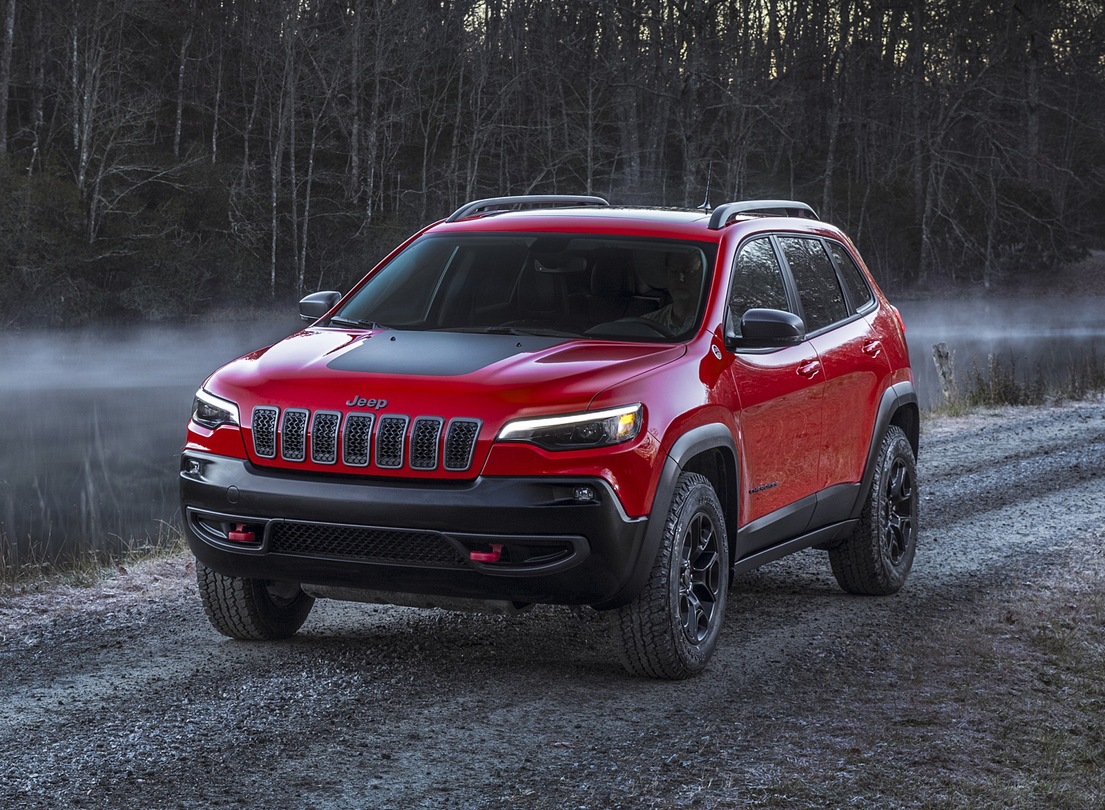 2019 Jeep Cherokee Trailhawk Front Three-Quarter Wallpapers (7)