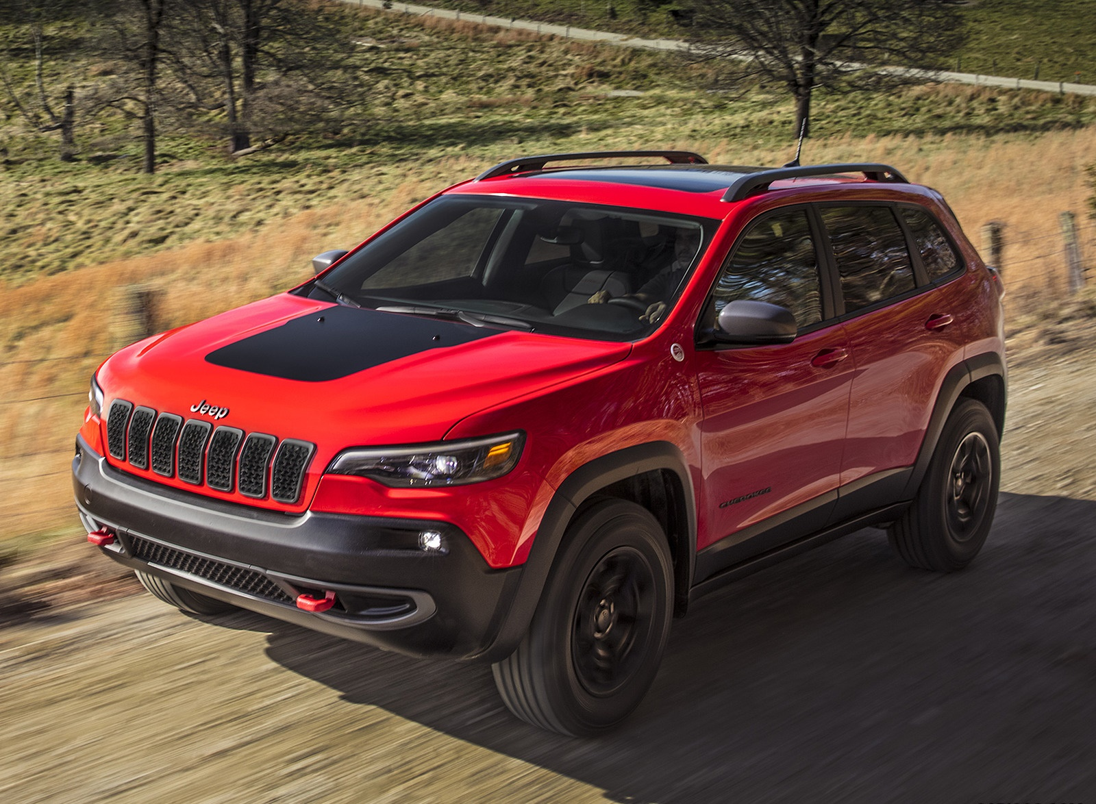 2019 Jeep Cherokee Trailhawk Front Three-Quarter Wallpapers (2)