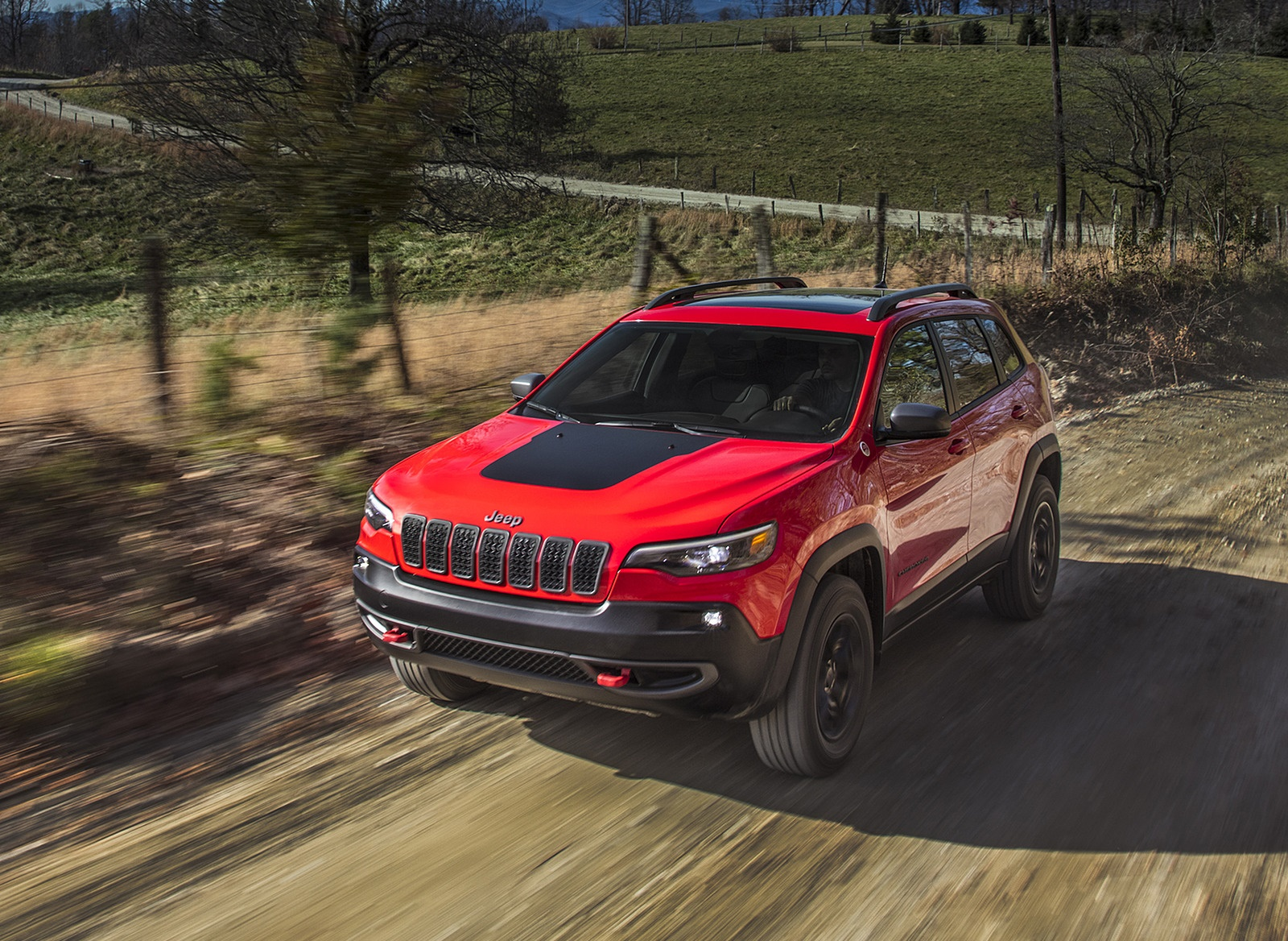 2019 Jeep Cherokee Trailhawk Front Wallpaper (3)