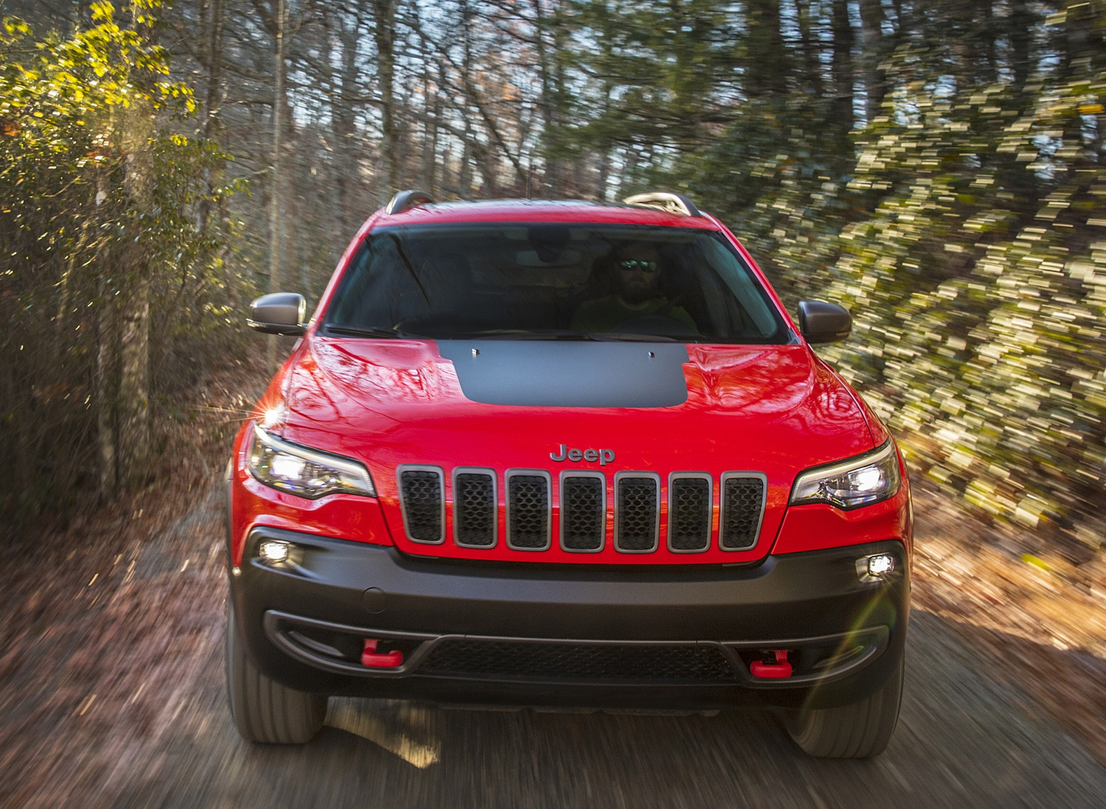 2019 Jeep Cherokee Trailhawk Front Wallpaper (14)