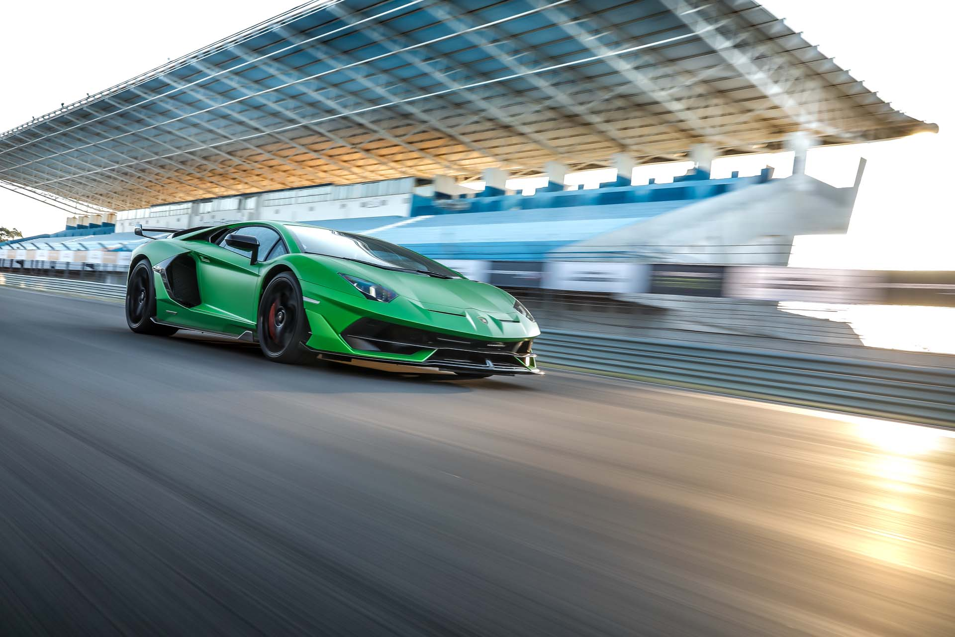 2019 Lamborghini Aventador SVJ Front Three-Quarter Wallpapers #25 of 241