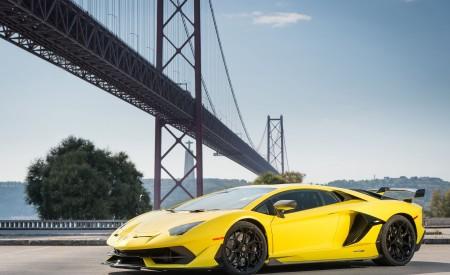 2019 Lamborghini Aventador SVJ Front Three-Quarter Wallpapers 450x275 (95)