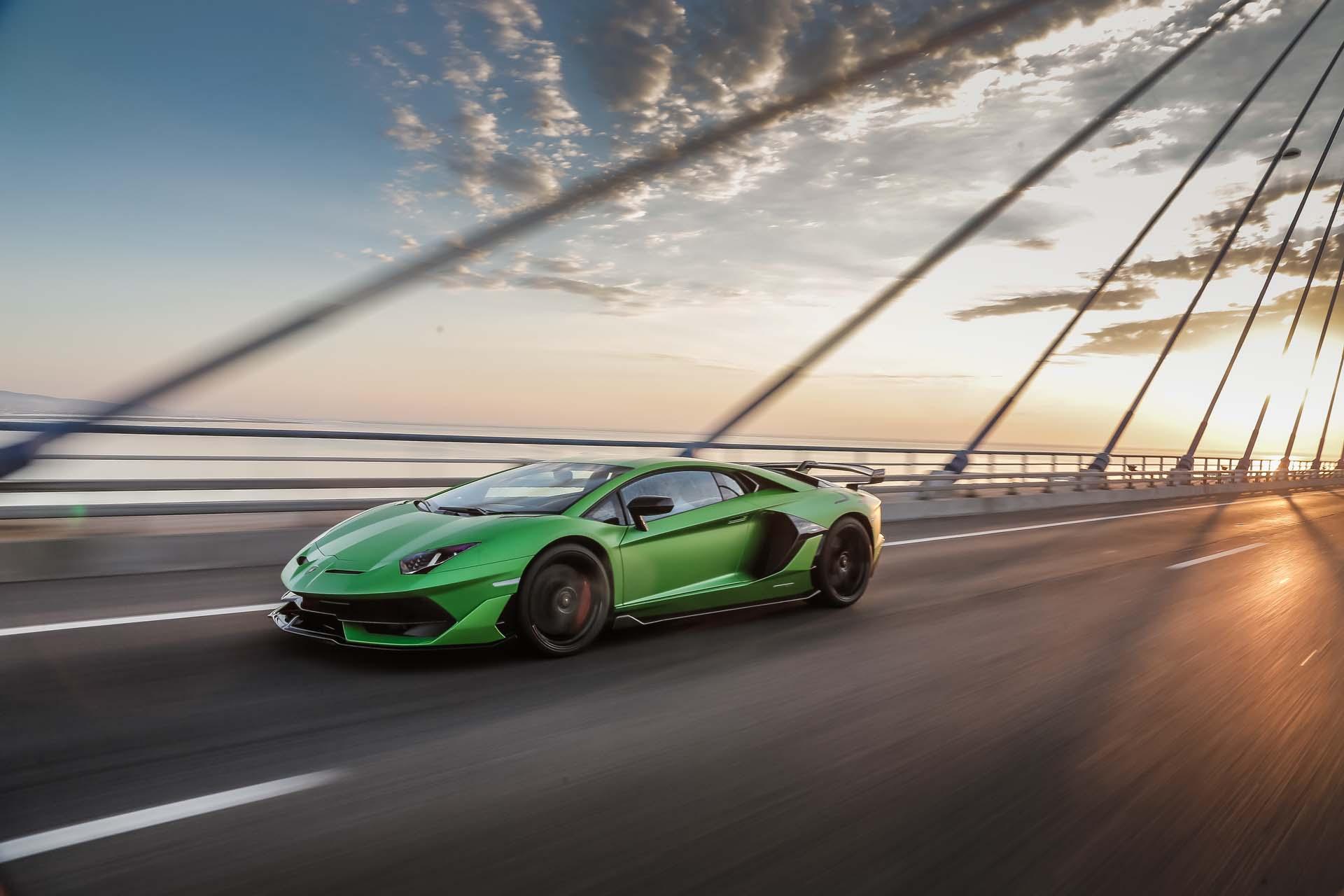 2019 Lamborghini Aventador SVJ Front Three-Quarter Wallpapers #44 of 241