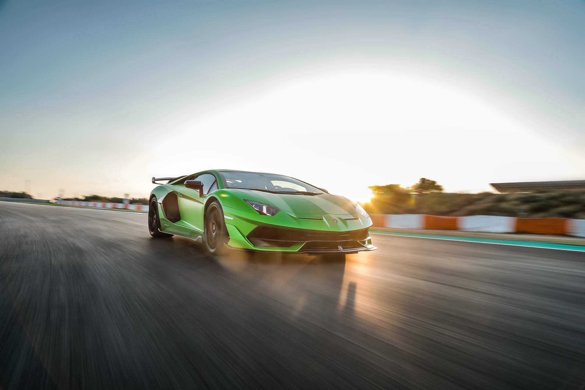 2019 Lamborghini Aventador SVJ Front Wallpapers #22 of 241