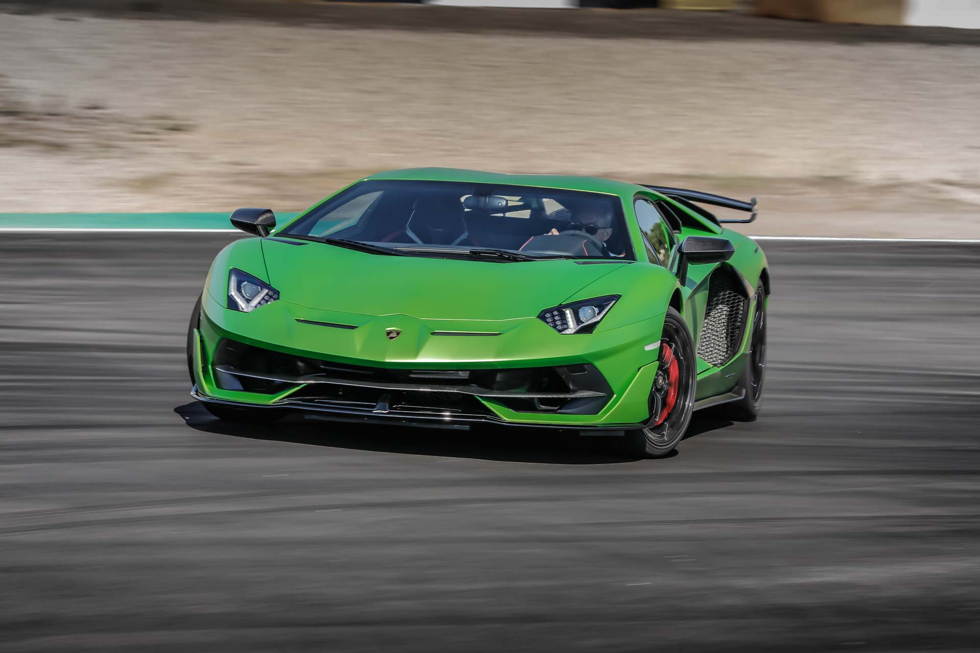 2019 Lamborghini Aventador SVJ Front Wallpapers (14)