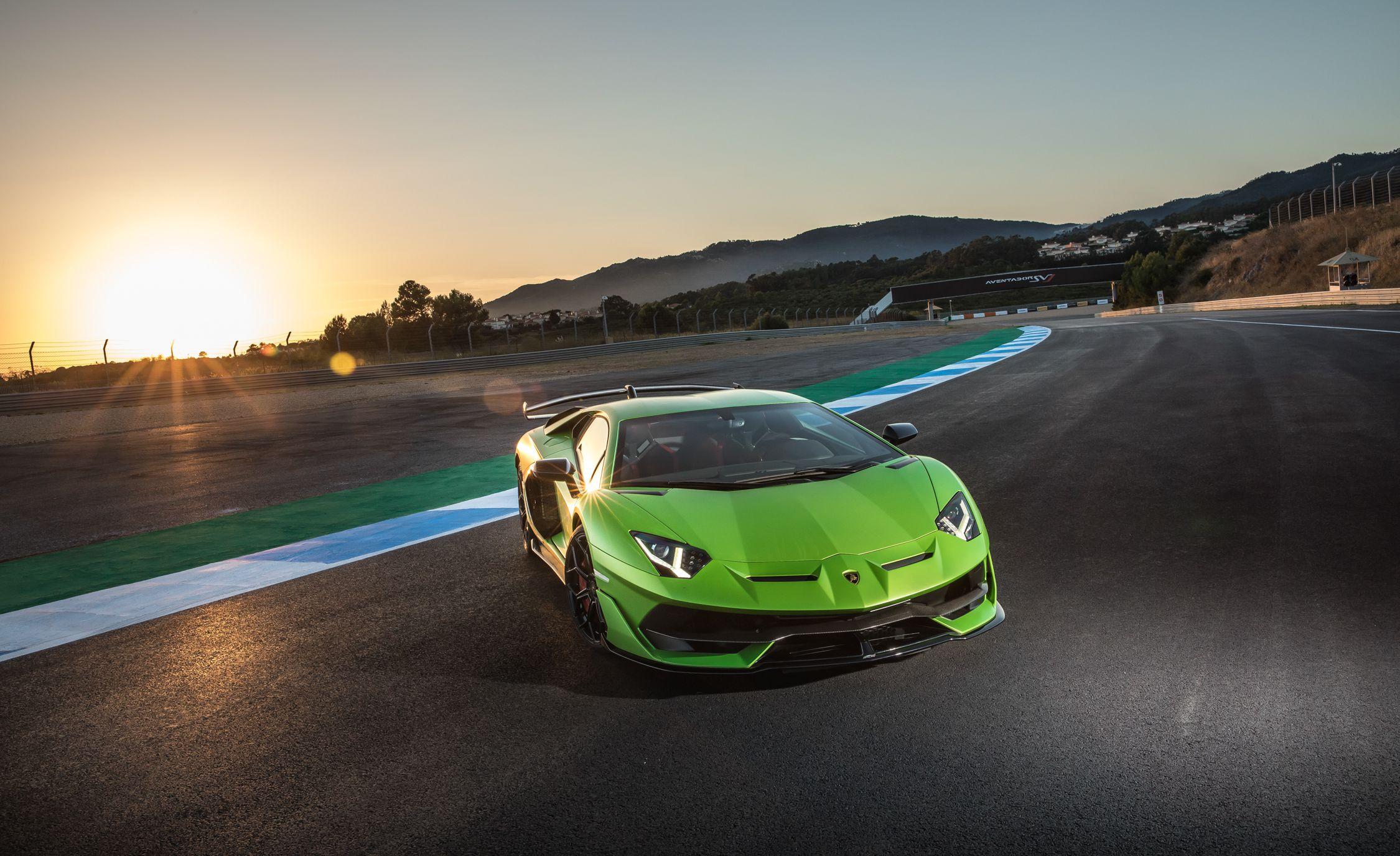 2019 Lamborghini Aventador SVJ Front Wallpapers #148 of 241