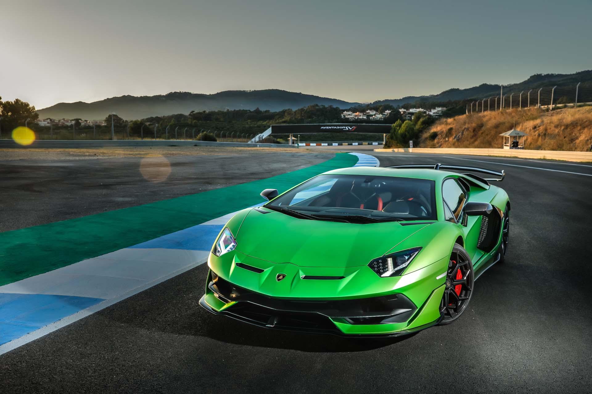 2019 Lamborghini Aventador SVJ Front Wallpapers #29 of 241