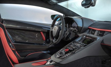 2019 Lamborghini Aventador SVJ Interior Cockpit Wallpapers 450x275 (86)