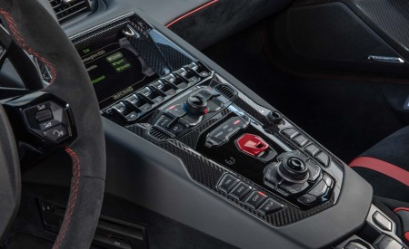 2019 Lamborghini Aventador SVJ Interior Detail Wallpaper 450x275 (84)