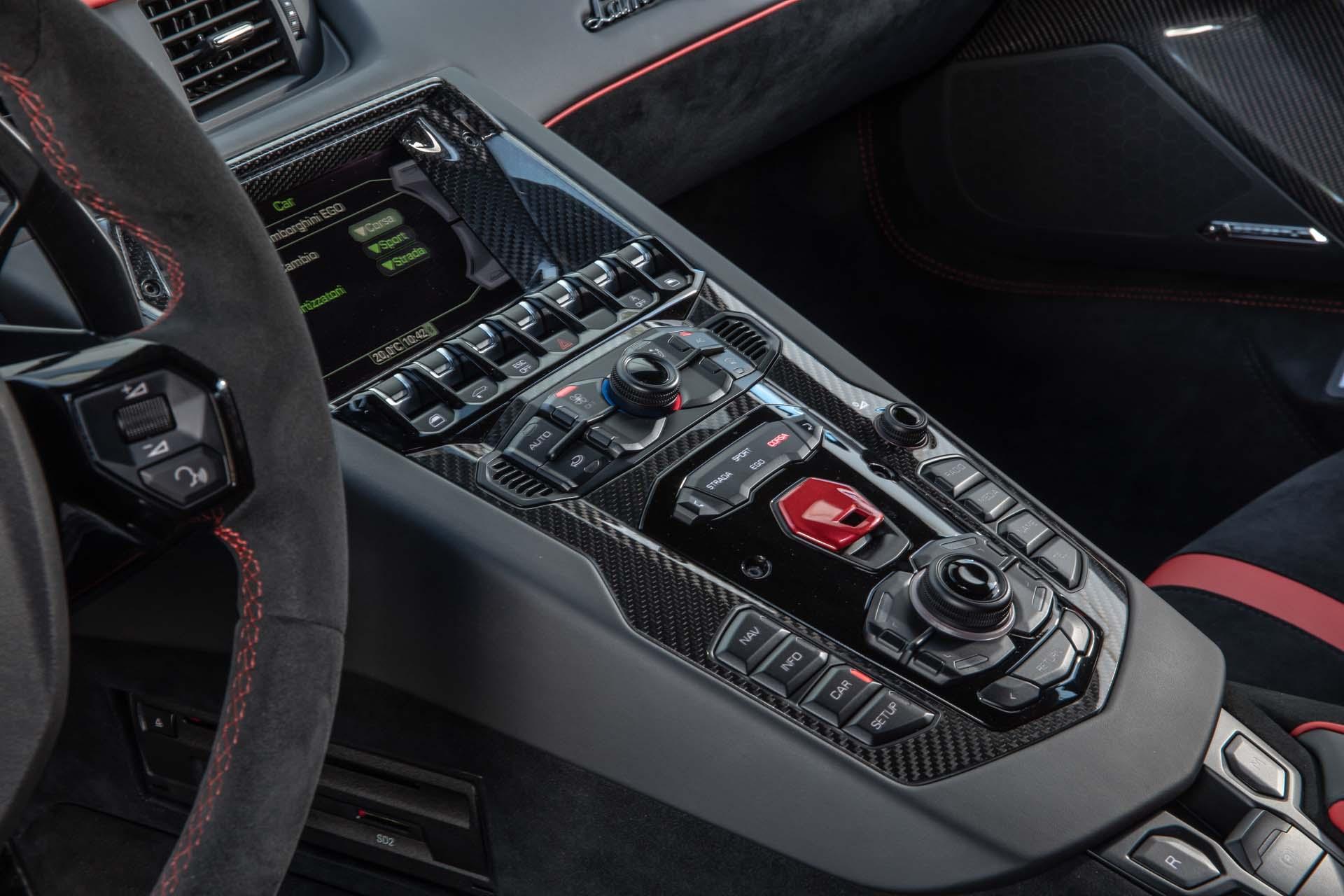 2019 Lamborghini Aventador Svj Interior Detail Wallpaper 84 Hd
