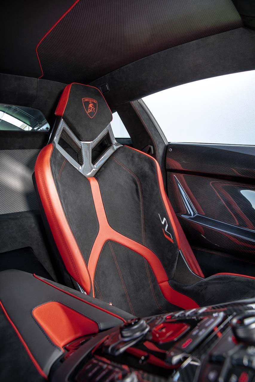 2019 Lamborghini Aventador Svj Interior Front Seats Wallpaper 83