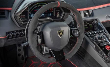 2019 Lamborghini Aventador SVJ Interior Steering Wheel Wallpaper 450x275 (80)