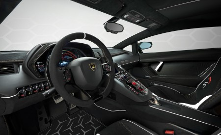 2019 Lamborghini Aventador SVJ Interior Wallpaper 450x275 (178)